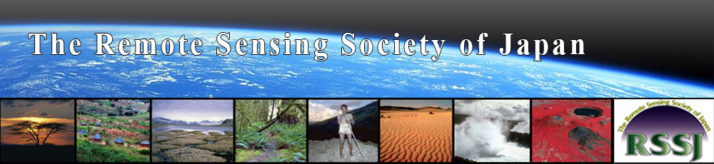The Remote Sensing Society of Japan (RSSJ)